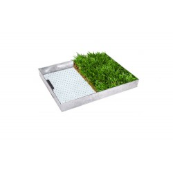 C-22 GrassTop Recessed Manhole Cover,600x450x100mm