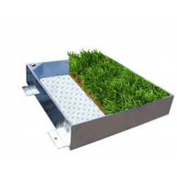 C-23 GrassTop Recessed Manhole Cover,600x600x100mm