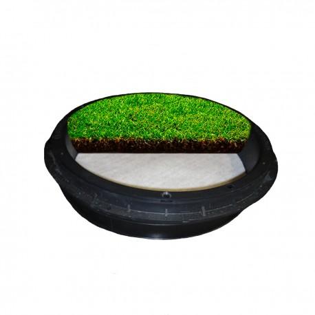 C-11 GrassTop Recessed Manhole Cover, 450 dia