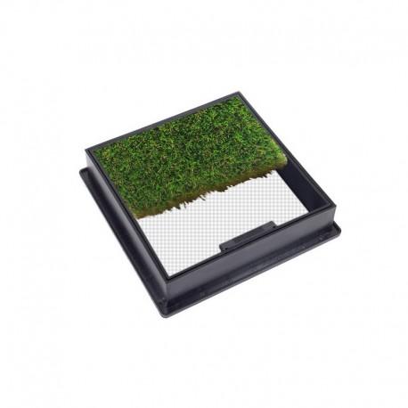C-19 GrassTop Recessed Manhole Cover, 300x300x80mm