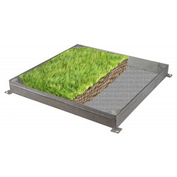 C-26 GrassTop Recessed Manhole Cover, 900x600x100mm